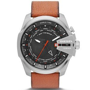 Diesel Watch Only the Brave Mega Chief World Time